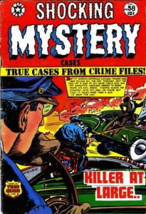 Shocking Mystery Cases #58 FAIR; Star Publications   low grade comic - save on s