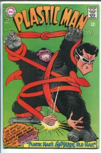 PLASTIC MAN #7 1967-DC COMICS-BIZARRE COVER-WOOZY WINKS-vg/fn