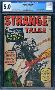 Strange Tales #101 (Marvel, 1962) CGC 5.0