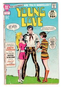 YOUNG LOVE #89 comic book-DC ROMANCE-GOOD ISSUE G