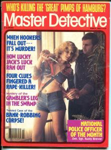 Master Detective 9/1987- spicy babe-violent pulp thrills-pimps of Hamburg-G