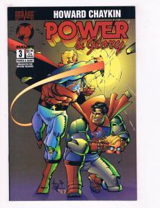 Power & Glory #3 NM Bravura Malibu Comics Comic Book Chaykin 1994 DE28