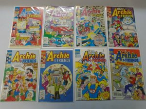 Archie and Friends set 19 different issues from #1-34 8.0 VF (1991-99)