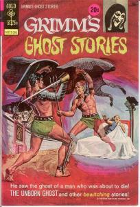 GRIMMS GHOST STORIES 9 VF-NM   May 1973 COMICS BOOK