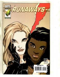Lot Of 9 Runaways Marvel Comic Books # 2 24 25 26 27 28 29 30 + Saga # 1 EK2