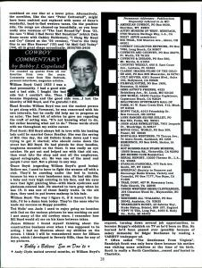 Western Clippings #28 1999-B-Wesrern movie fanzine-Republic Studios-FN