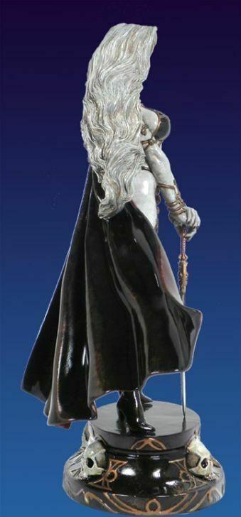 Lady Death White Faux Bronze Statue by Clayburn Moore Ltd Edition #84/200 MIB