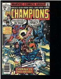 Champions #16 (DC, 1978)