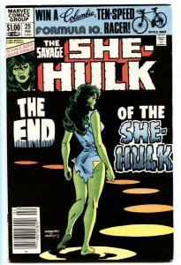 Savage She-Hulk #25 Last issue-Marvel comic book 1981 VF/NM
