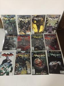 Batman New 52 1 2 3 4 5 6 7 8 9 10 11-52 All Variants Complete Set Nm 1st Print