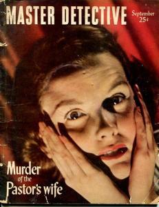 MASTER DETECTIVE-SEPT 1948-FR/G-SALKIN COVER-AMBUSH-MURDER-TORTURE-HORROR FR/G