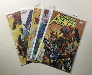 I Am An Avenger 1-5 1 2 3 4 5 Lot Run Set Near Mint Nm Limited Series Marvel