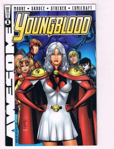Youngblood #1 VF Awesome Comics Comic Book Moore DE11