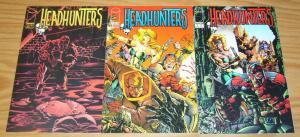 Headhunters #1-3 VF/NM complete series - image comics - chris marrinan set lot 2
