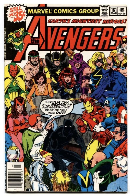 Avengers #181 BLACK PANTHER-ANT-MAN comic book first scott lang-marvel