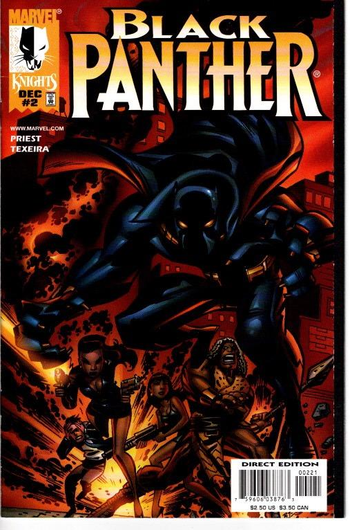 BLACK PANTHER #2 $7.50 NEAR MINT