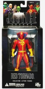 DC Direct Justice League Red Tornado Figure - Series 5 - Mint in Box