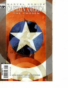 Lot Of 4 Captain America Chosen Marvel Comic Books #1 2 5 6 BH52