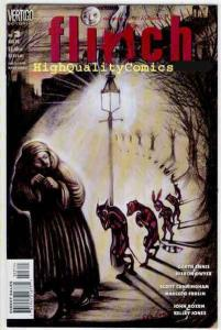 FLINCH #3, Horror, NM+, Vertigo, Garth Ennis, Kelley Jones,Satanic Titanic story