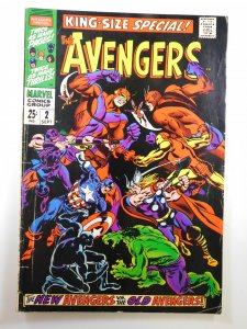 The Avengers Annual #2 (1968) VG+