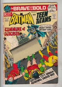 Brave and the Bold, The #102 (Jul-72) VF+ High-Grade Batman, Teen Titans (Rob...