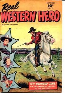 REAL WESTERN HERO-#70-(#1)-1948-HOPPY FN