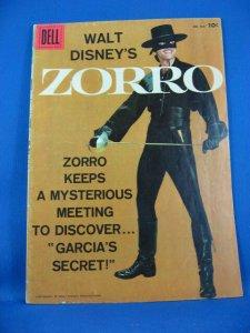 Four Color 933 Walt Disney Presents ZORRO VG Fine Photo Cover Toth 1958