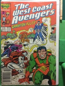 The West Coast Avengers #13