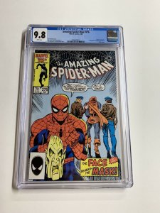 Amazing Spider-man 276 Cgc 9.8 White Pages Marvel Copper Age