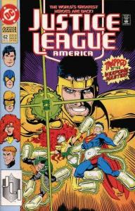 Justice League (1987 series) #62, NM (Stock photo)