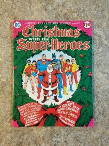 DC Comics Limited Collectors Edition C-34 VF Christmas With The Superheroes GIFT