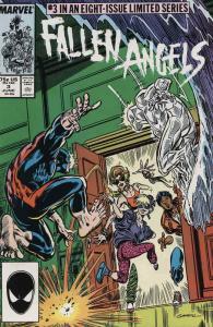 Fallen Angels #3 FN; Marvel   save on shipping - details inside