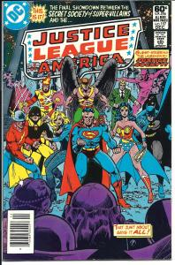 Justice League of America #197, Sept., 1981 (VF-)