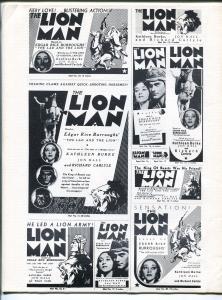 ERB-dom #13 1965-Edgar Rice Burroughs & Tarzan fanzine-Reed Crandall-VF