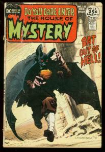 HOUSE OF MYSTERY #195 WRIGHTSON PROTOTYPE SWAMP THING G