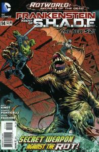 Frankenstein, Agent of S.H.A.D.E. #14 VF/NM; DC   save on shipping - details ins