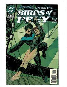Birds Of Prey # 8 NM 1st Print DC Comic Book Nightwing Batgirl Classic Cover SR1