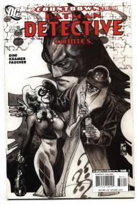 Detective Comics #837 comic book-Harley Quinn cover-batman