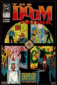 Doom Patrol #22 Grant Morrison (May 1989, DC)  6.0 FN