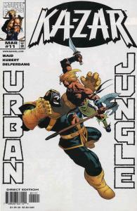 Ka-Zar (3rd Series) #11 VF; Marvel | save on shipping - details inside