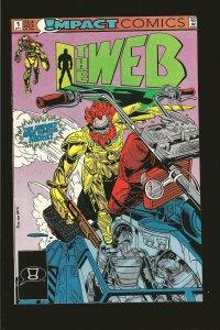Impact Comics The Web No 1 September 1991