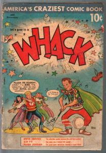 Whack #2 1953-St John-golf cover-parody-humor-Joe Kubert-Bibg Crosby-FR
