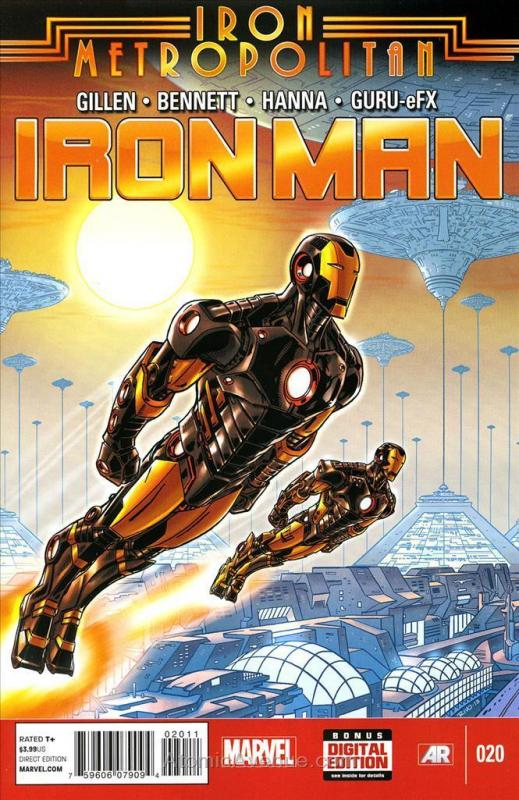 Iron Man (5th Series) #20 VF/NM; Marvel | save on shipping - details inside