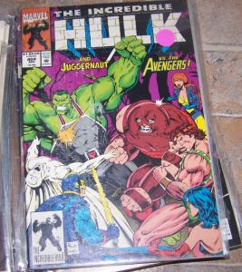 Incredible Hulk  # 404 1993  marvel  JUGGERNAUT AVENGERS