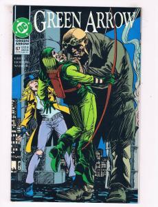 Green Arrow #67 VF DC Comics Comic Book Grell Oct 1992 DE39 AD12