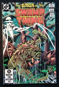 SAGA OF THE SWAMP THING #14, VF/NM, Tom Yeates, DC 1982 1983  more DC in store