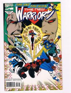 The New Warriors # 47 Marvel Comic Book Hi-Res Scan Modern Age Great Issue!!! S7