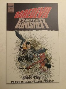 Daredevil And The Punisher Nm Near Mint Prestige Marvel