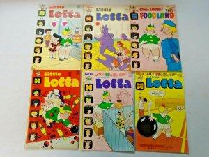Bronze Age Harvey Little Lotta Comic Lot 11 Different Average 5.0
