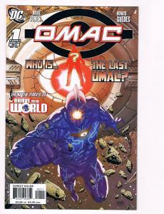 OMAC # 1 DC Comic Books The Last Omac Brave New World Bruce Jones Renato!!!! S50